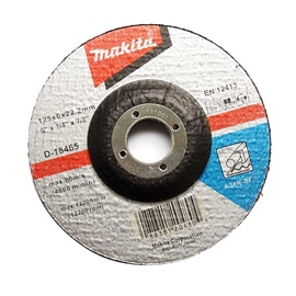 Metalo šlifavimo diskas Makita D-18465, 125x6x22.2 mm