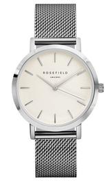 Rosefield The Mercer Women's Watch White/Silver