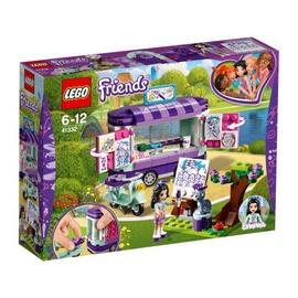 Konstruktorius LEGO Friends, Emos meno dirbinių kioskas 41332