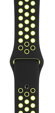 Apple 44mm Nike Sport Band S/M & M/L Black/Volt