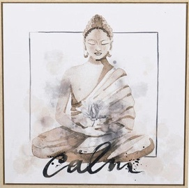 Home4you Print Picture 50x50x4cm Buddha
