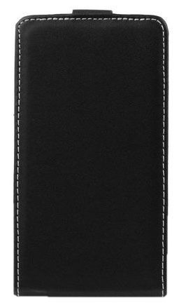 Forcell Flexi Slim Flip for Sony Xperia J ST26i Black