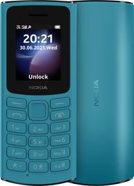 Мобильный телефон Nokia 105 2021 4G, синий, 48MB/128MB