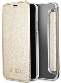 Guess Iridescent Book Case For Apple iPhone X/XS Gold