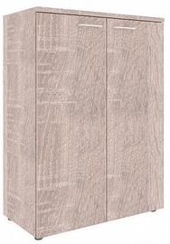 Skyland Xten XMC 85.1 Office Wardrobe 85.6x119x43.2cm Sonoma Oak
