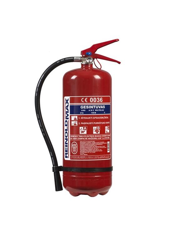 Огнетушитель Reinoldmax RM6000 Fire Extinguisher 6kg