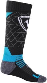 Rossignol Ski Socks Jr Premium Wool Blue/Black XS