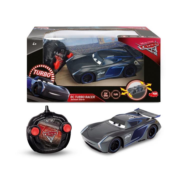 Žaislinė mašina Cars Jackson Storm, pilka