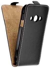 Forcell Flexi Slim Vertical Flip Case For Huawei Honor 10 Black