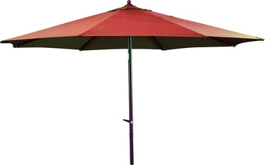 BESK Parasol 2.7m Red