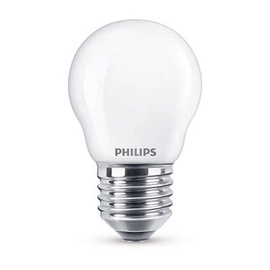 LED lempa Philips P45, 4.3W, E27, 2700K, 470lm
