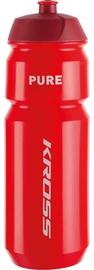 Велосипедная фляжка Kross Pure 750ml Water Bottle Red
