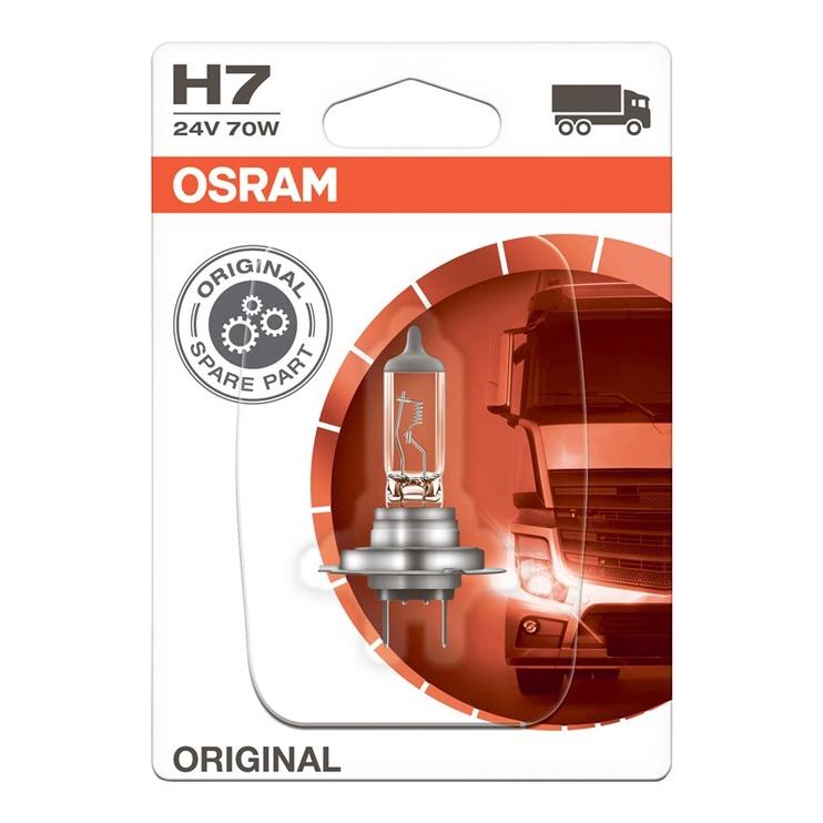 Автомобильная лампочка Osram 64215-01B 70W 24V H7 PX26d