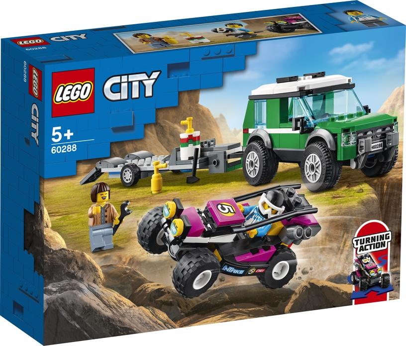 Конструктор LEGO City Транспортировка карта 60288, 210 шт.