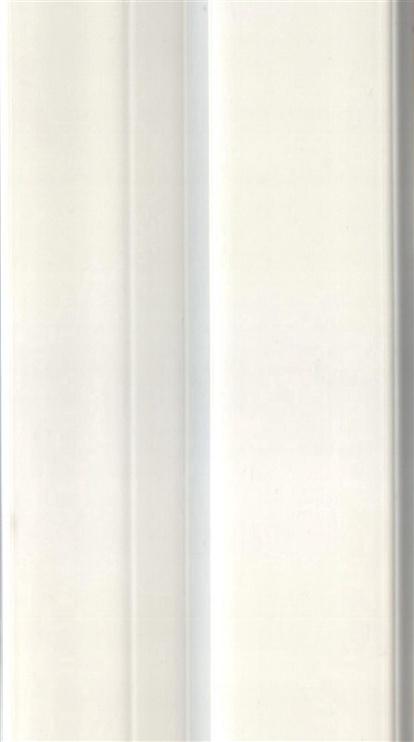 Nurgaliist KornerFlex, PVC painduv, 3 m, valge