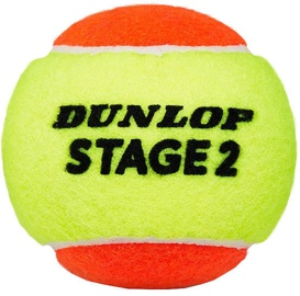 Dunlop Stage 2 Tennis Balls Orange 60pcs