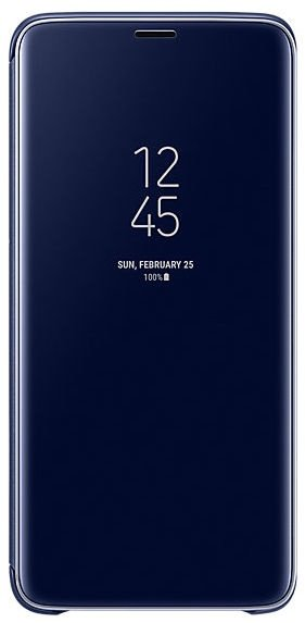 Samsung Clear View Standing Cover For Samsung Galaxy S9 Plus Blue