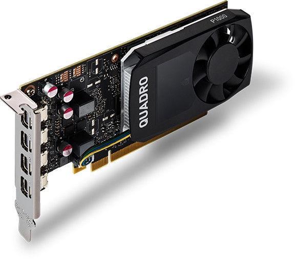 Vaizdo plokštė Dell Quadro P1000 490-BDXN 4 GB GDDR5
