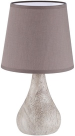 Fischer & Honsel Vari Marmor Table Lamp 40W E14 Marble/Brown