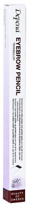 Uzacu zīmulis Depend Triangular Ebony, 0.3 g