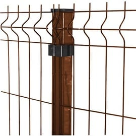 Besk Panel Fence 1.23x2.5m Brown