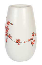 Home4you Yoko Ceramic Vase Flowers Medium White