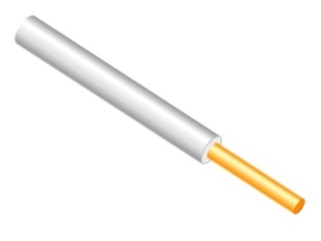 Elektros instaliacijos kabelis Lietkabelis PV-1/H07V-U, 1 x 4 mm²