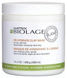 Matrix Biolage Raw Re Hydrate Clay Mask 400ml