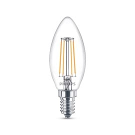 LED lempa Philips B35, 4W, E14, 2700K, 470lm