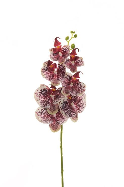 Искусственный цветок 80-356901, белый/розовый