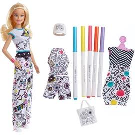 Mattel Barbie Crayola Color In Fashion Doll & Fashions FPH90