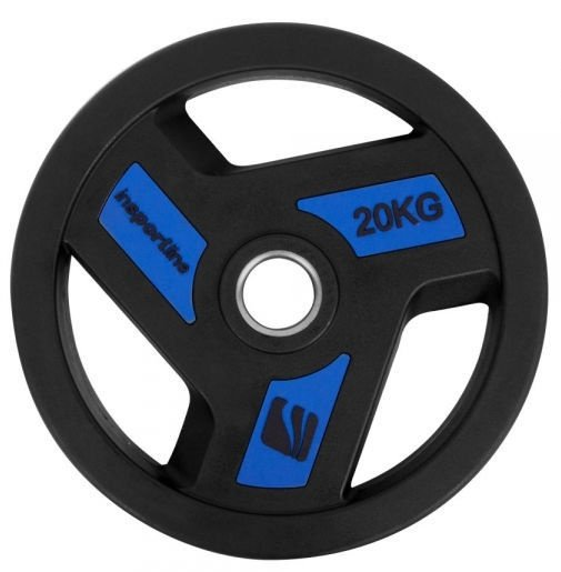 inSPORTline Rubber-Coated Olympic Weight Plate 20kg