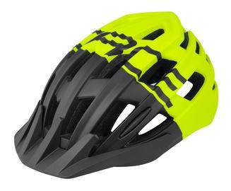 Шлем Force Corella MTB F902974, черный/желтый, L/XL, 570 - 610 мм