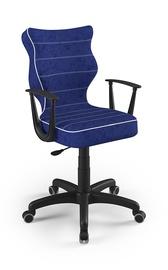 Детский стул Entelo Norm VS06, синий/черный, 400x370x1010 мм