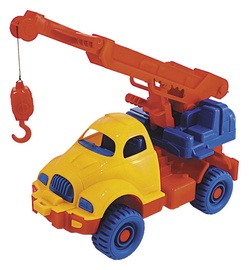 Žaislinė mašina su kranu Space