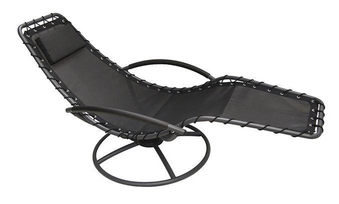 Gultas Verners S1105 Black, 1730x770x850 mm