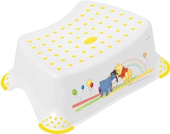 Keeeper Baby Step Stool Winnie The Pooh & Friends White