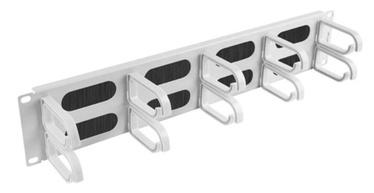 "Kaablihoidik Lanberg Cable Managment Panel 19"" Grey"