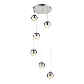 Gaismeklis BUBBLE, A1853-6L, 5X9W, LED