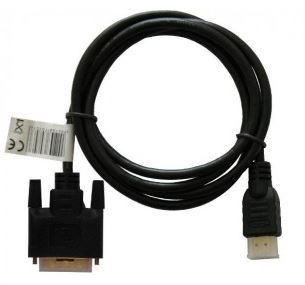 Savio Adapter HDMI / DVI Black 1.5m