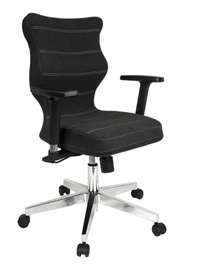 Entelo Nero Poler Chrome Office Chair DC17 Anthracite