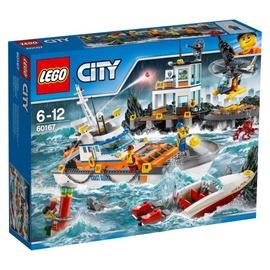 Konstruktorius LEGO City, Pakrančių apsaugos būstinė 60167