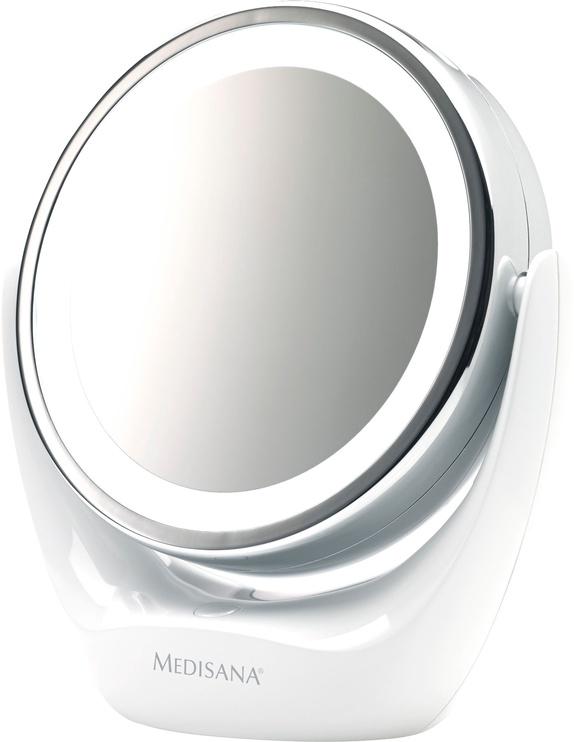Meigipeegel Medisana CM835 White, valgustusega, teisaldatav, 16.9x19 cm