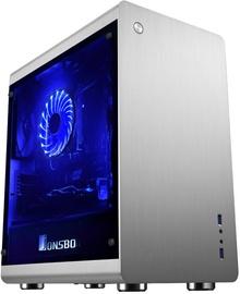 Jonsbo RM3 mATX Micro-Tower Silver
