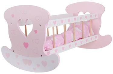 Funikids Wooden Cradle For Dolls