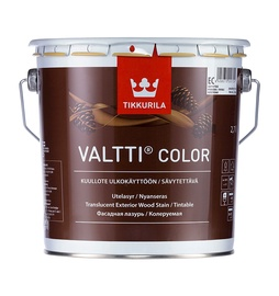Medienos apsaugos ir apdailos priemonė Tikkurila Valtticolor, EC bazė, 2.7 l