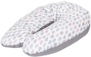 Ceba Baby Feeding Pillow Physio Multi Jersey Clouds