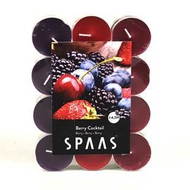Ароматическая свеча Spaas Red Berries, 24 шт., 4.5 h