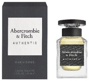 Tualetes ūdens Abercrombie & Fitch Authentic Man 30ml EDT