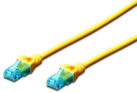 Digitus Premium CAT 5e UTP Patch Cable 5m Yellow